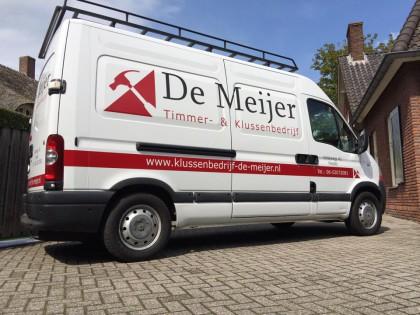 Andere bus voor De Meijer Timmer- & Klussenbedrijf